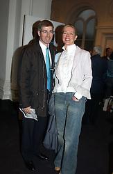 MR TIM & LADY HELEN TAYLOR at the opening of the second annual Photo-London exhibition at The Royal Academy, Burlington Gardens, London on 18th May 2005.<br />
