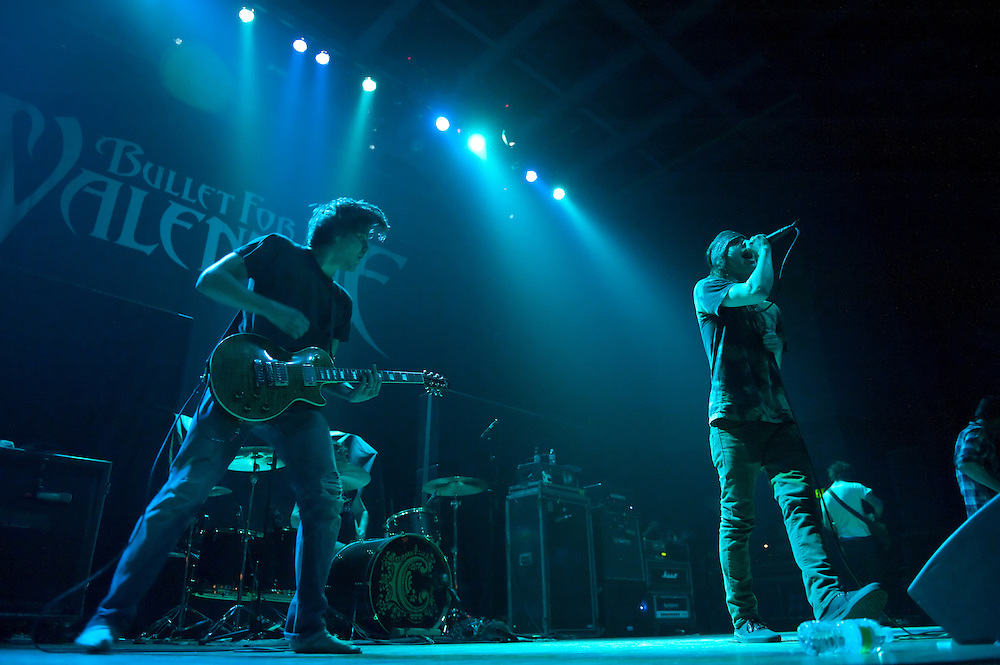 Metal band Chiodos performs live in concert at The Pageant, St. Louis, MO on May 21, 2010.