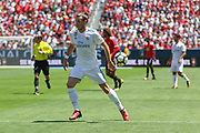 Real Madrid Midfielder Gareth Bale during the AON Tour 2017 match between Real Madrid and Manchester United at the Levi's Stadium, Santa Clara, USA on 23 July 2017.