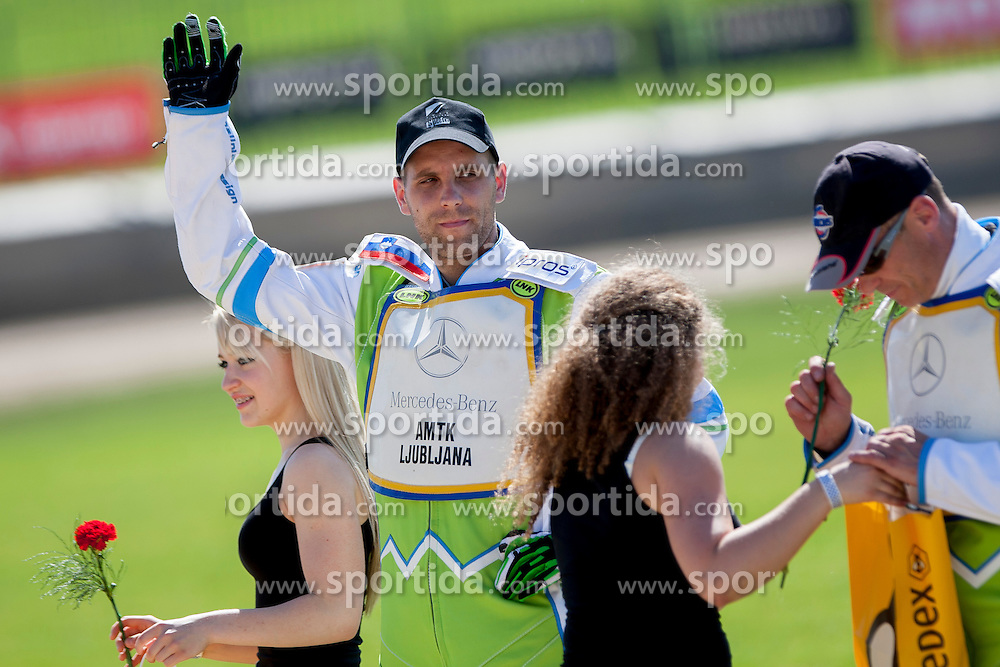 Maks Gregoric from Slovenia during FIM Speedway Grand Prix World Cup Qualifying, on June 7, 2014, in Sports park Ilirija Ljubljana, Slovenia. Photo by Urban Urbanc / Sportida