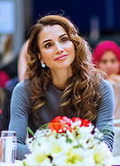 Queen Rania Attends Voluteers Forum