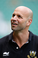 Northampton Director of Rugby Jim Mallinder looks on during the Aviva Premiership final at Twickenham Stadium, Twickenham<br /> Picture by Andrew Tobin/Focus Images Ltd +44 7710 761829<br /> 31/05/2014