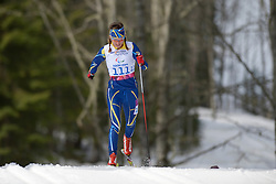 KONONOVA Oleksandra competing in the Nordic Skiing XC Long Distance at the 2014 Sochi Winter Paralympic Games, Russia