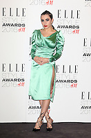 Charli XCX, ELLE Style Awards 2016, Millbank London UK, 23 February 2016, Photo by Richard Goldschmidt