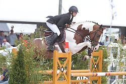 Vernaet Frederic (BEL) - Best Man Z<br /> Belgisch kampioenschap jonge springpaarden Gesves 2012<br /> © Hippo Foto - Counet Julien