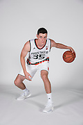 September 28, 2016: Chris Stowell #35 poses during  Miami Hurricanes Men's Basketball Photo Day in Coral Gables, Florida.