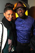 April 27, 2012- New York, NY : (L-R) Actress/Model Sky Grey and Director Andrew Dosunmu attends the New York Premiere of ' RESTLESS CITY ' presented by the African American Film Festival Releasing Movement (AFFRM) held at AMC 25 at 42nd Street on April 27, 20102 in New York City. An Official Sundance Film selection, and Directed by Andrew Dosunmu, RESTLESS CITY tells the story of a young man surviving on the fringes of New York City, where music is his passion, life is a hustle, and falling in love is his greatest risk. (Photo by Terrence Jennings).