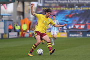 Burnley midfielder George Boyd (21)  during the Sky Bet Championship match between Huddersfield Town and Burnley at the John Smiths Stadium, Huddersfield, England on 12 March 2016. Photo by Simon Davies.