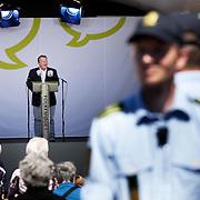Lars Løkke-Rasmussen formand for Venstre  taler på Talerstolen.