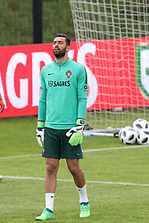 May 30, 2018 - Lisbon, Portugal - Portugal's goalkeeper Rui Patricio in action during a training session at Cidade do Futebol (Football City) training camp in Oeiras, outskirts of Lisbon, on May 30, 2018, ahead of the FIFA World Cup Russia 2018 preparation matches against Belgium and Algeria...........during the Portuguese League football match Sporting CP vs Vitoria Guimaraes at Alvadade stadium in Lisbon on March 5, 2017. Photo: Pedro Fiuzaduring the Portugal Cup Final football match CD Aves vs Sporting CP at the Jamor stadium in Oeiras, outskirts of Lisbon, on May 20, 2015. (Credit Image: © Pedro Fiuza/NurPhoto via ZUMA Press)