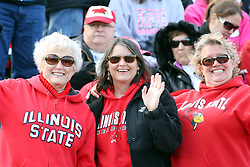 06 October 2012:   during an NCAA football game between the Southern Illinois Salukis and the Illinois State Redbirds at Hancock Stadium in Normal IL