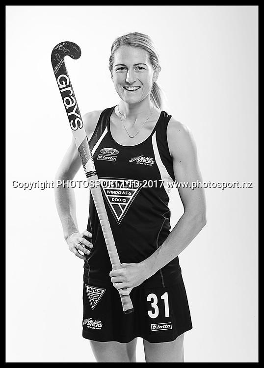 Stacey Michelsen, New Zealand Black Sticks women, national hockey team photoshoot. Photosport Studio, Auckland. August 2017, Copyright Image: Andrew Cornaga / www.photosport.nz