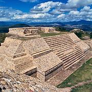 Mixtec ruins of Monte Alban. Oaxaca, Mexico.