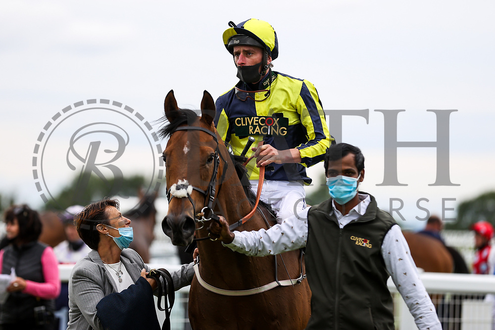 Willy Nilly ridden by Adam Kirby (T: Clive Cox) wins the 15:10 Home Of Winners At valuerater.co.uk Handicap (Div 2) - Rogan/JMP - 14/07/2020 - HORSE RACING - Bath Racecourse - Bath, England.