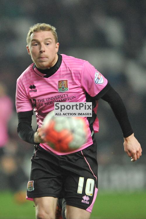 NICKY ADAMS NORTHAMPTON MK Dons v Northampton Town, FA Cup Emirates FA Cup Third round Repay, Stadium MK, Tuesday 19th January 2016