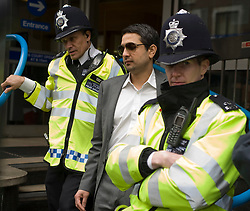 Picture by Mark Larner/Central News. Picture shows cricket agent Mazhar Majeed outside Westminster Magistrates 17/03/2011..Three Pakistani cricketers accused of spot-fixing in last summer's Lord's Test were ordered to stand trial today (Thurs)...Former national captain Salman Butt, 26, and fast bowlers Mohammad Asif, 28, and Mohammad Amir, 18, made their first appearance at City of Westminster Magistrates' Court this morning.