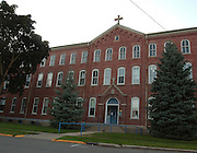 The Holy Childhood of Jesus School building in Harbor Springs, Michigan.