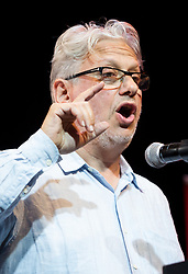 © Licensed to London News Pictures. File picture 07/07/2016. London, UK. Founder of Momentum and Labour NEC member, JON LANSMAN speaking at a rally in support of Jeremy Corbyn at the Troxy in east London on 6th July 2016. Jon Lansman has reportedly been secretly recorded saying the Labour leader wants to overhaul party rules to lower the threshold for deselection. Photo credit: Vickie Flores/LNP