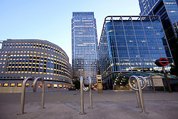 UNITED KINGDOM LONDON 24MAY09 - Canary Wharf area of the London Docklands during the early morning hours...jre/Photo by Jiri Rezac..© Jiri Rezac 2009