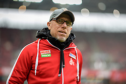 18.03.2017, Rhein Energie Stadion, Koeln, GER, 1. FBL, 1. FC Koeln vs Hertha BSC, 25. Runde, im Bild Trainer Peter Stoeger (1. FC Koeln) // during the German Bundesliga 25th round match between 1. FC Cologne and Hertha BSC at the Rhein Energie Stadion in Koeln, Germany on 2017/03/18. EXPA Pictures © 2017, PhotoCredit: EXPA/ Eibner-Pressefoto/ Schueler<br /> <br /> *****ATTENTION - OUT of GER*****