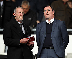 Blackburn Rovers Manager Gary Bowyer in the stands at Derby County - Mandatory byline: Robbie Stephenson/JMP - 07966 386802 - 18/10/2015 - FOOTBALL - iPro Stadium - Derby, England - Derby County v Wolverhampton Wanderers - Sky Bet Championship