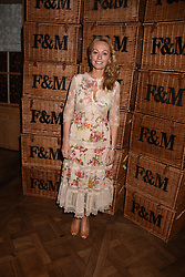 Clodagh McKenna at the Fortnum & Mason Food and Drink Awards, Fortnum & Mason Food and Drink Awards, London, England. 10 May 2018.