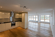 Second floor kitchen/living interior