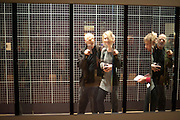 DUNCAN MACKASKILL; MILLIE PECK, Opening of Eadweard Muybridge and Rachel Whiteread exhibitions. Tate Britain. Millbank. 6 September 2010. -DO NOT ARCHIVE-© Copyright Photograph by Dafydd Jones. 248 Clapham Rd. London SW9 0PZ. Tel 0207 820 0771. www.dafjones.com.