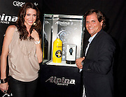 Shannon Elizabeth, and Ralph Simons, U.S. President of Frederique Constant / Alpina Watches