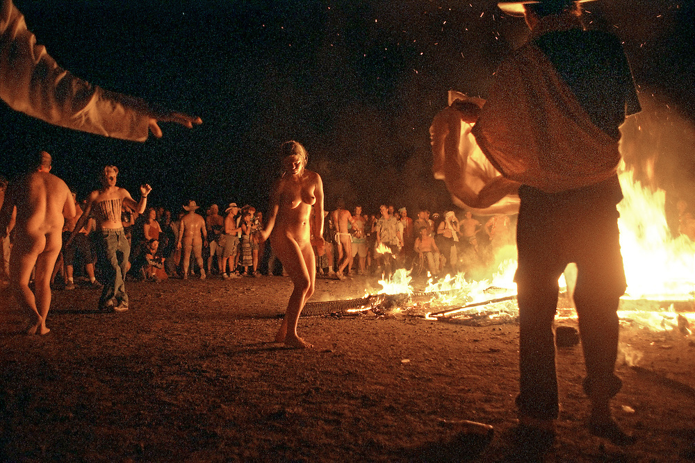 Burning Man Festival.