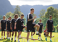 Kevin Holt leads the way during Day 2 of Dundee FC pre-season training camp in Obertraun, Austria<br /> <br />  - &copy; David Young - www.davidyoungphoto.co.uk - email: davidyoungphoto@gmail.com