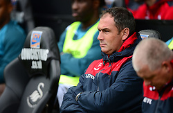 Swansea City manager Paul Clement - Mandatory by-line: Alex James/JMP - 10/09/2017 - FOOTBALL - Liberty Stadium - Swansea, England - Swansea City v Newcastle United - Premier League