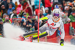 26.01.2020, Streif, Kitzbühel, AUT, FIS Weltcup Ski Alpin, Slalom, Herren, 2. Lauf, im Bild Lucas Braathen (NOR) // Lucas Braathen of Norway in action during his 2nd run in the men's Slalom of FIS Ski Alpine World Cup at the Streif in Kitzbühel, Austria on 2020/01/26. EXPA Pictures © 2020, PhotoCredit: EXPA/ Johann Groder