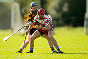 02/10/2016, IHC Semi Final at Trim.<br /> Kilskyre / Moylagh vs Gaeil Colmcille<br /> Ronan McGuinness (Kilskyre/Moylagh) & Stephen Reddy (Gaeil Colmcille)<br /> Photo: David Mullen /www.cyberimages.net / 2016<br /> ISO: 400; Shutter: 1/1250; Aperture: 4; <br /> File Size: 2.5MB<br /> Print Size: 8.6 x 5.8 inches