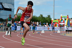 05/08/2017; Orrego Campos, Mauricio Esteban, T46, CHI at 2017 World Para Athletics Junior Championships, Nottwil, Switzerland