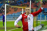 06-02-2011: Voetbal: Vitesse - Feyenoord: Arnhem<br /> Eredivisie 2010 / 2011<br /> Luc Castaignos<br /> &copy; 2011 Joep Leenen Sportfotografie
