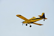 Chim-Nir Aviation Air Tractor AT-802 crop dusting plane used by the Israeli fire fighters to spread fire retardant on large scale forest fires