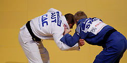 24.04.2010, Ferry Dusika Stadion, Wien, AUT, Judo European Championships, Max Schirnhofer (AUT) vs Markus Nyman (SWE), during Judo European Championships 2010, EXPA Pictures 2010, Photographer EXPA/S. Trimmel / SPORTIDA PHOTO AGENCY