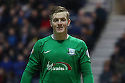 Preston North End Goalkeeper Jordan Pickford during the Sky Bet Championship match between Preston North End and Hull City at Deepdale, Preston, England on 28 December 2015. Photo by Pete Burns.