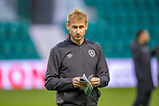Zdenek Zlamal (#1) of Heart of Midlothian looks disappointed to be starting on the bench for the Ladbrokes Scottish Premiership match between Hibernian FC and Heart of Midlothian FC at Easter Road Stadium, Edinburgh, Scotland on 29 December 2018.