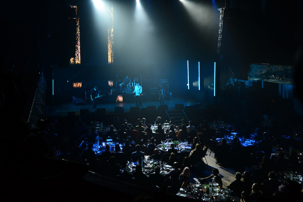 The Wyld performing at the APRA Silver Scroll Awards 2012. Auckland Town Hall. 13 September 2012.