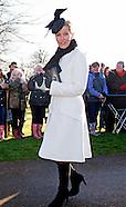 Royals Attend Xmas Church Service, Sandringham