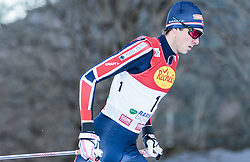 19.12.2015, Nordische Arena, Ramsau, AUT, FIS Weltcup Nordische Kombination, Langlauf, im Bild Jarl Magnus Riiber (NOR) // Jarl Magnus Riiber of Norway during Cross Country Competition of FIS Nordic Combined World Cup, at the Nordic Arena in Ramsau, Austria on 2015/12/19. EXPA Pictures © 2015, PhotoCredit: EXPA/ JFK