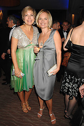 Left to right, PENNY SMITH and MARIELLA FROSTRUP at the 2007 Costa Book Awards held at The Intercontinental Hotel, One Hamilton Place, London W1 on 22nd January 2008.<br />
