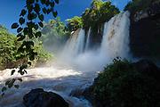 Lower Falls at Iguazú Falls, Argentina, South America