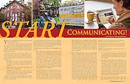 Editorial article in The Congregationalist magazine on church communications.
