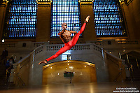 Dance As Art New York City Photography Project Grand Central Series with dancer, Christopher R Wilson