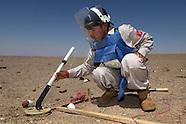 Afghan demining