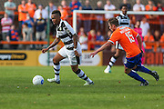 Forest Green Rovers Keanu Marsh-Brown (7) on the ball during the Vanarama National League match between Braintree Town and Forest Green Rovers at the Amlin Stadium, Braintree, United Kingdom on 24 September 2016. Photo by Shane Healey.