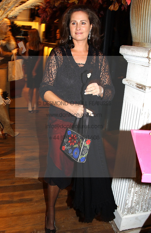 HENRIETTA, COUNTESS OF CALEDON at Polo Ralph Lauren's Pink Pony Party to launch it's Pink Pony Collection in aid of Cancer Research UK, held at their Fulham Road Store, London on 13th October 2004.<br />